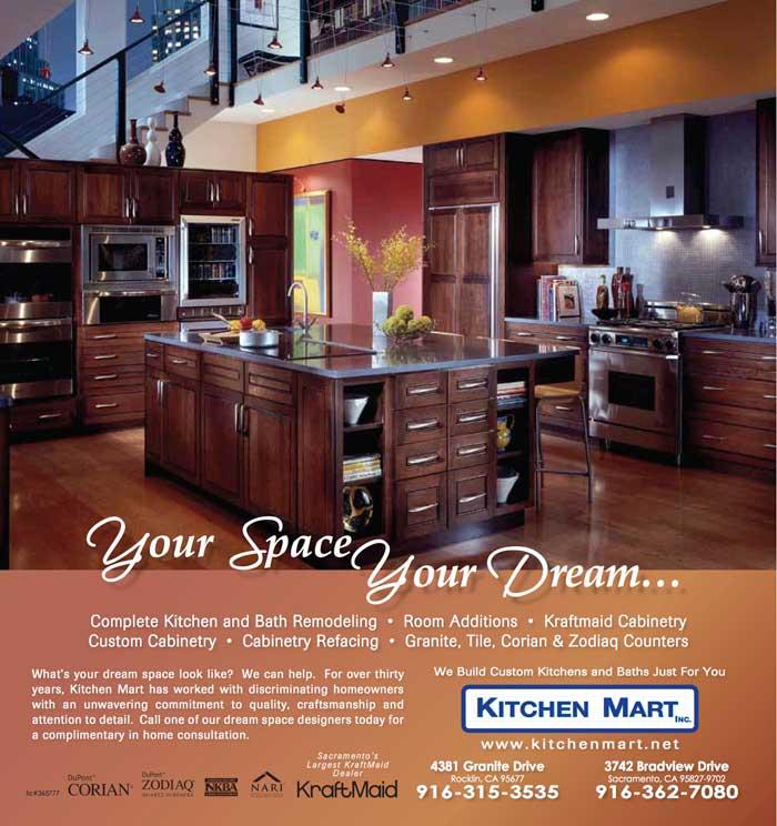 Kitchen Mart August Print Ad
